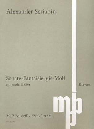 Sonate-Fantaisie Sol dièse Mineur - laflutedepan.com