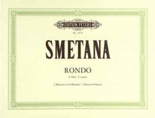 Rondo En Ut. 2 Pianos 8 Mains - Bedrich Smetana - laflutedepan.com
