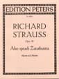 Richard Strauss - Also Sprach Zarathustra Op. 30 - Partition - di-arezzo.fr