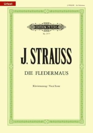 Die Fledermaus - Johann fils Strauss - Partition - laflutedepan.com
