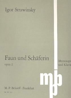 Le faune et la bergère Opus 2 - Igor Stravinski - laflutedepan.com