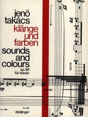 Klänge Und Farben Opus 95 - Jenö von Takacs - laflutedepan.com