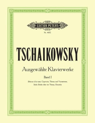 TCHAIKOWSKY - Piano Works Volume 1 - Sheet Music - di-arezzo.com