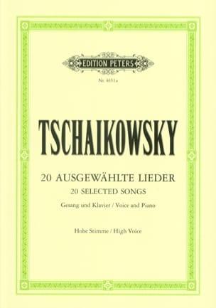 Lieder Choisis. Voix Haute - TCHAIKOWSKY - laflutedepan.com