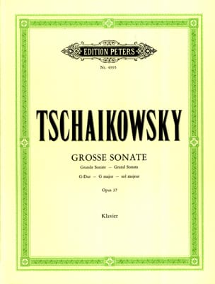 TCHAIKOWSKY - Great Sonata Major Opus 37 - Sheet Music - di-arezzo.com