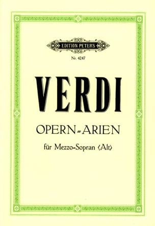 Giuseppe Verdi - Arien. Mezzo (Alto) - Partition - di-arezzo.fr