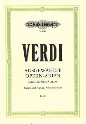 Giuseppe Verdi - Arien Ténor - Partition - di-arezzo.fr