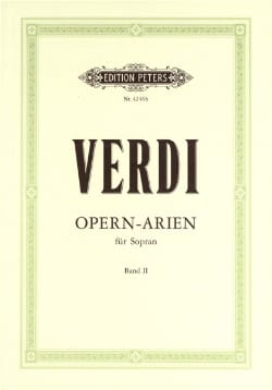 VERDI - Airs Of operas. Soprano Volume 2 - Sheet Music - di-arezzo.co.uk