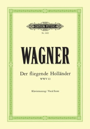 Richard Wagner - Der Fliegende Holländer Wwv 63 - Sheet Music - di-arezzo.com