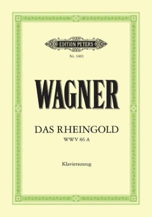 Richard Wagner - Das Rheingold. Wwv 86a - Sheet Music - di-arezzo.co.uk
