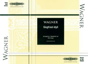 Richard Wagner - Siegfried-Idyll. 4 Mains - Partition - di-arezzo.fr