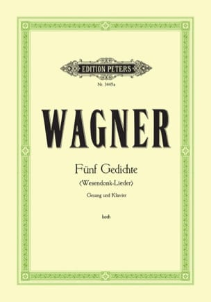 Richard Wagner - Wesendonck Lieder. Aloud - Sheet Music - di-arezzo.co.uk