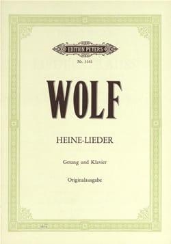 Heinrich-Heine-Lieder Hugo Wolf Partition Mélodies - laflutedepan