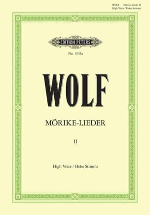 Mörike-Lieder Volume 2. Voix Haute Hugo Wolf Partition laflutedepan
