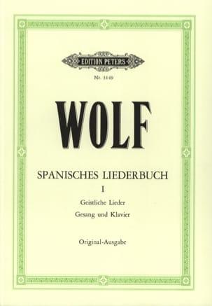 Hugo Wolf - Spanisches Liederbuch.1 - Partition - di-arezzo.fr