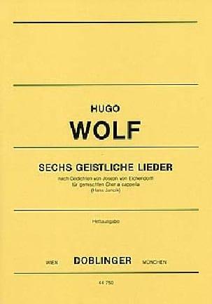 Hugo Wolf - 6 geistliche Lieder - Partition - di-arezzo.fr