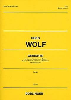 Gedichte Von Johann Wolfgang Von Goethe Vol 1 (Voix Grave) - laflutedepan.com
