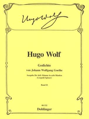 Gedichte Von Johann Wolfgang Von Goethe. Volume 2 Voix Grave laflutedepan