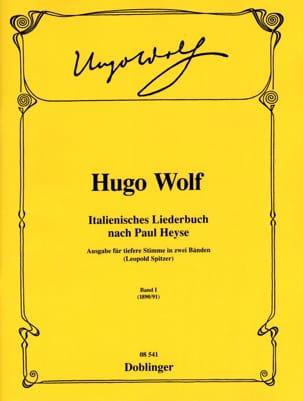 Italienisches Liederbuch Volume 1. Voix Grave Hugo Wolf laflutedepan