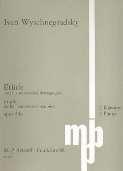 Etüde Op. 45a. 2 Pianos 8 mains - laflutedepan.com