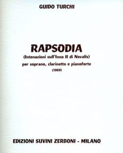 Guido Turchi - Rapsodia - Noten - di-arezzo.de