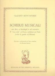 Claudio Monteverdi - Scherzi Musicali - Partition - di-arezzo.fr