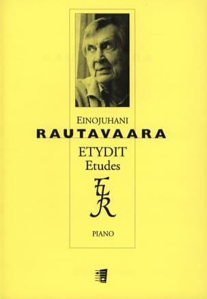 6 Etudes opus 42 Einojuhani Rautavaara Partition Piano - laflutedepan