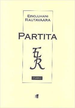 Partita Op. 34 Einojuhani Rautavaara Partition Piano - laflutedepan