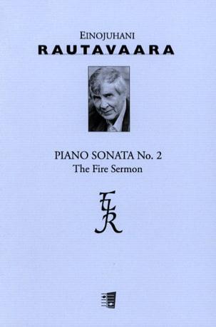 Sonate N°2 Op. 64 Einojuhani Rautavaara Partition Piano - laflutedepan