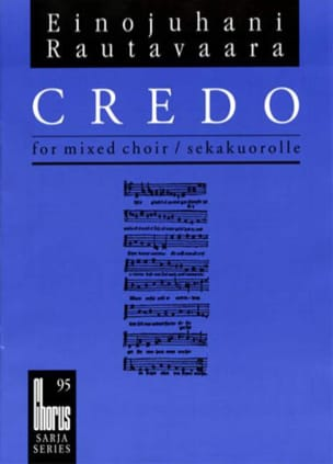 Einojuhani Rautavaara - Ch95 Creed - Partition - di-arezzo.co.uk