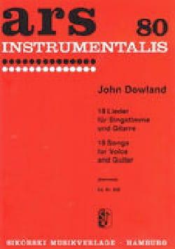 John Dowland - 18 Lieder - Sheet Music - di-arezzo.com