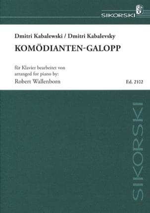 Komödianten-Galopp - Dimitri Kabalevsky - Partition - laflutedepan.com