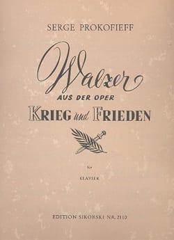 Walzer aus der Oper Krieg und Frieden für Klavier - laflutedepan.com