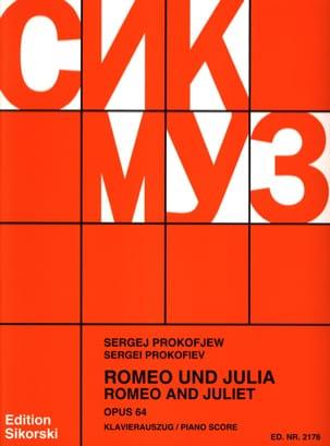 Sergei Prokofiev - Romeo Und Julia Opus 64. - Partition - di-arezzo.fr