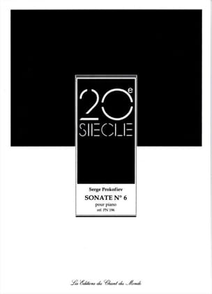 Sergei Prokofiev - Piano Sonata No. 6 Opus 82 - Sheet Music - di-arezzo.co.uk