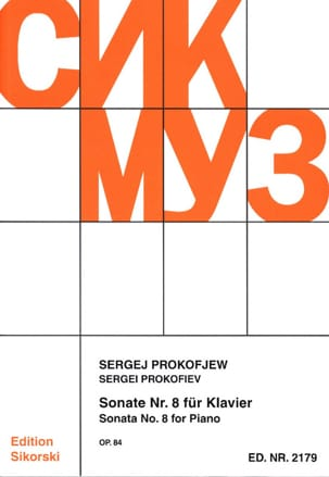 Sergei Prokofiev - Piano Sonata No. 8 Opus 84 - Sheet Music - di-arezzo.com