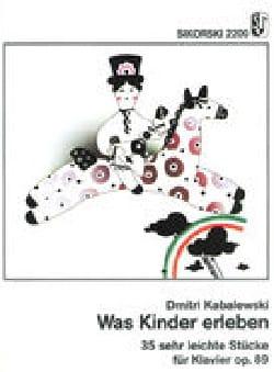 Was Kinder Erleben Op. 89 - Dimitri Kabalevsky - laflutedepan.com