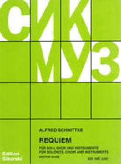 Requiem. Conducteur Alfred Schnittke Partition Chœur - laflutedepan
