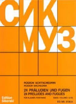 Rodion Chedrin - 24 Preludes and Fugues Volume 1ピアノ - 楽譜 - di-arezzo.jp