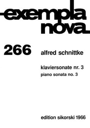 Sonate pour piano n° 3 - Alfred Schnittke - laflutedepan.com