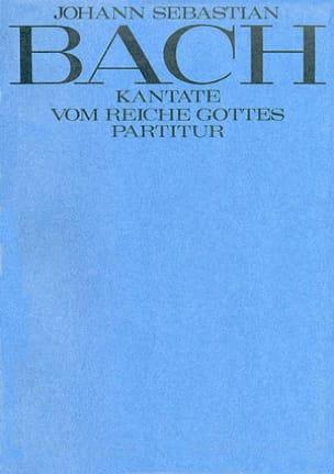 Jean-Sébastien Bach - Vom Reiche Gottes - Partition - di-arezzo.fr