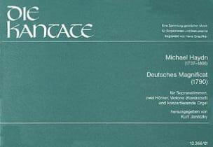 Michael Haydn - Magnificat Richte dich auf - Noten - di-arezzo.de