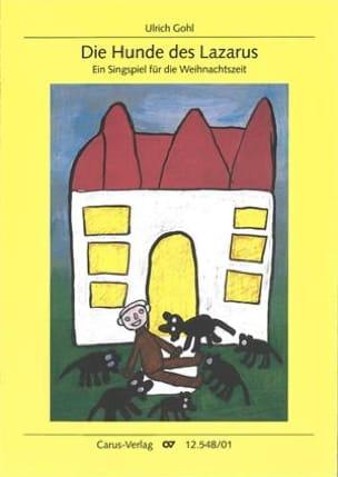 Die Hunde des Lazarus - Ulrich Gohl - Partition - laflutedepan.com