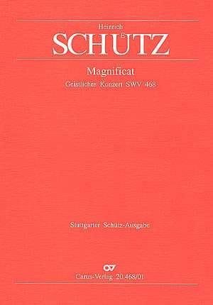 Heinrich Schütz - Magnificat Swv 468 - Partition - di-arezzo.fr