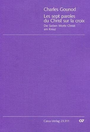 Charles Gounod - The 7 Words Of Christ In The Cross - Sheet Music - di-arezzo.com