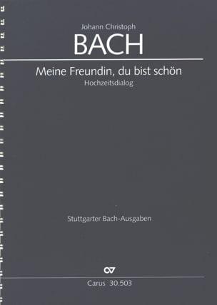 Meine Freundin, du bist schön Johann Christoph Bach laflutedepan