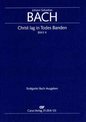 BACH - Cantate 4 Christ lag in Todesbanden - Sheet Music - di-arezzo.co.uk