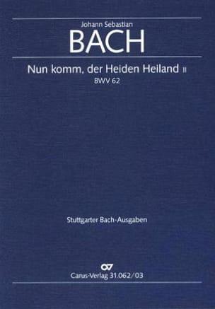 Cantate 62 Nun komm, der Heiden Heiland II - BACH - laflutedepan.com