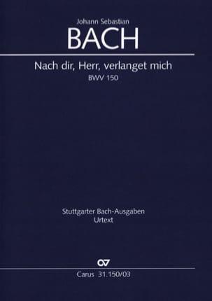BACH - Cantate 150 Nach Dir, Herr, Verlanget Mich - Partition - di-arezzo.fr