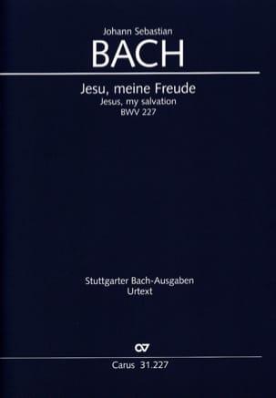 Jesu, Meine Freude BWV 227 BACH Partition Chœur - laflutedepan